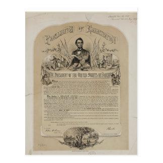 Carte Postale Proclamation B B Russell et Co (1868)