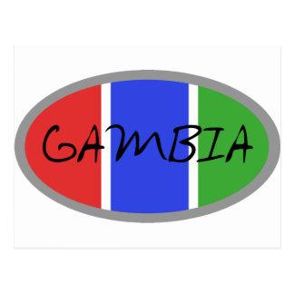 Carte Postale Produits de la Gambie ! !