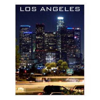 Carte Postale Produits de papier de nuit de Los Angeles