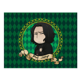 Carte Postale Professeur Snape d'Anime