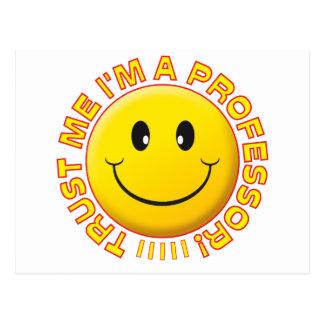 Carte Postale Professeur Trust Me Smile