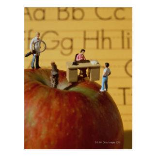 Carte Postale Professeurs sur Apple