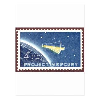 Carte Postale Projet de Mercury
