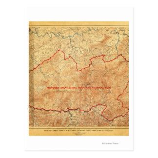 Carte Postale Proposition pour le parc national de Great Smoky