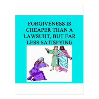 Carte Postale proverbe drôle d'avocat