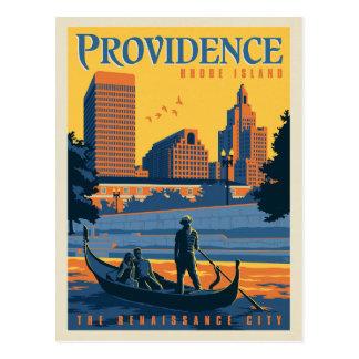 Carte Postale Providence, Île de Rhode | la ville de la