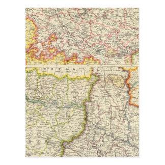 Carte Postale Provinces du Gange inférieur