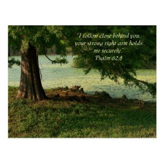 Carte Postale Psaume de confort