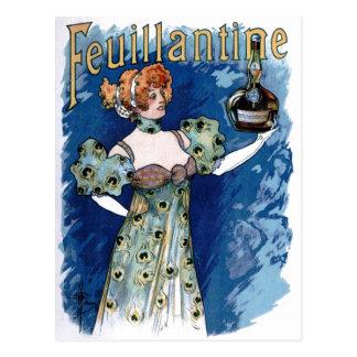 Carte Postale Publicité de boisson alcoolisée de Feuillantine