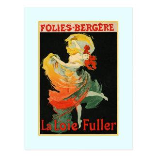 Carte Postale Publicité de Jules Chéret, 1893