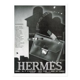 Carte Postale Publicité, Hermes