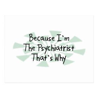 Carte Postale Puisque je suis le psychiatre
