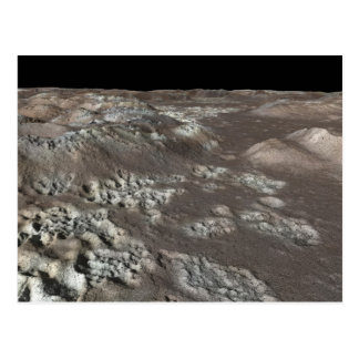 Carte Postale Puits de sublimation sur Mercury