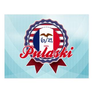 Carte Postale Pulaski, IA