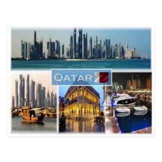 Carte Postale QA Qatar -