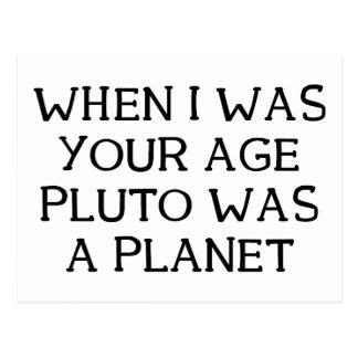 Carte Postale Quand Pluton