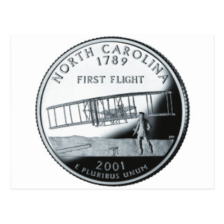 Carte Postale Quart de la Caroline du Nord