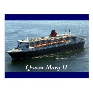 Carte Postale Queen Mary II, Queen Mary II