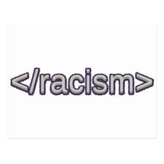 Carte Postale Racisme de fin