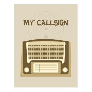 Carte Postale Radio-amateur