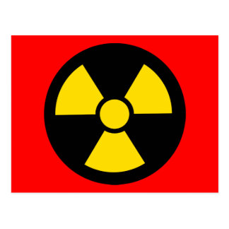 Carte Postale Radioactif