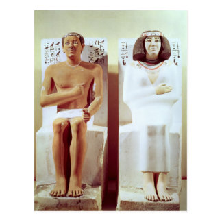 Carte Postale Rahotep et son épouse, Nofret