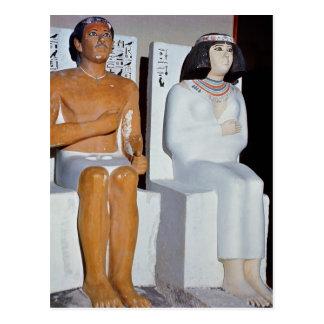 Carte Postale Rahotep et son épouse, Nofret, de Meydum