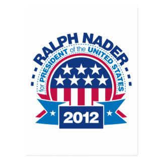Carte Postale Ralph Nader pour le président 2012