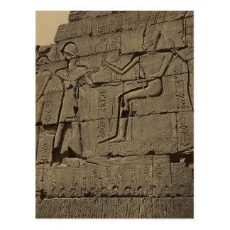 Carte Postale Ramusseum. L'Egypte circa 1867
