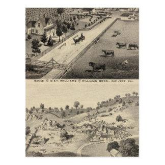 Carte Postale Ranch de Williams, carrière de Goodrich