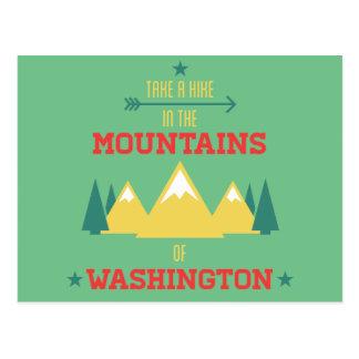 Carte Postale Randonnée et camping à Washington