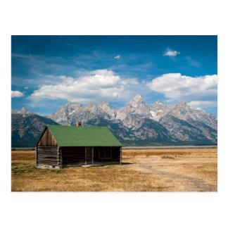 Carte Postale Rangée mormone en parc national grand de Teton