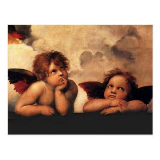 Carte Postale Raphael - Anges
