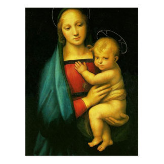 Carte Postale Raphael Sanzio - Madonna del Granduca