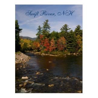 Carte postale rapide de la rivière   NH