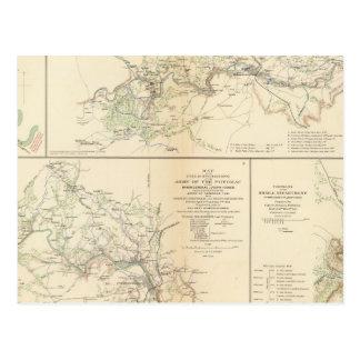 Carte Postale Rappahannock R, Chancellorsville, Fredericksburg