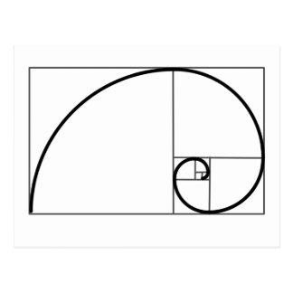 Carte Postale Rapport de Fibonacci