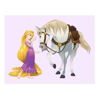 Carte Postale Rapunzel   Besties 4Ever