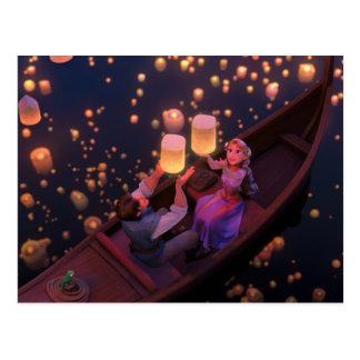 Carte Postale Rapunzel embrouillé   font votre propre magie