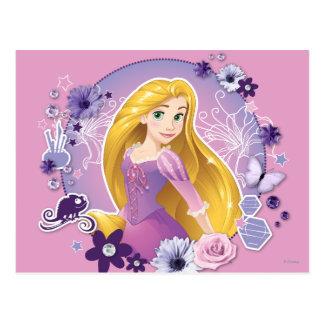Carte Postale Rapunzel - lumière d'I ma propre manière