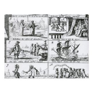 Carte Postale Rébellion, l'effet des monastères