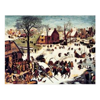 Carte Postale Recensement à Bethlehem