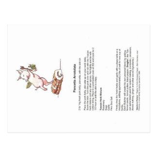 Carte Postale Recette de Divina Porchetta