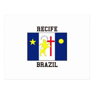 Carte Postale Recife Brésil