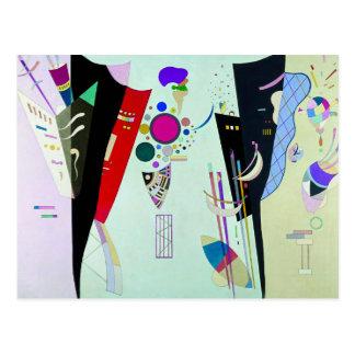 Carte postale réciproque d'Accords de Kandinsky