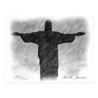 Carte Postale Rédempteur 1 du Christ