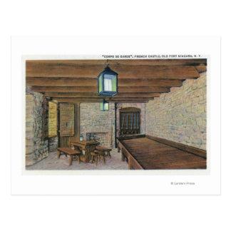 Carte Postale Redoute britannique, casernes françaises, poudre
