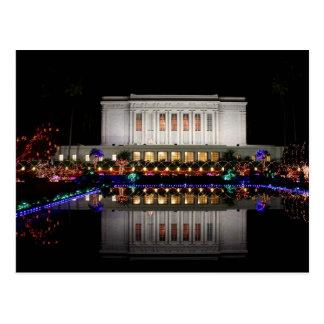 Carte Postale Réflexion de temple de MESA