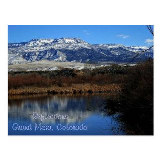 Carte Postale Réflexions, MESA grand le Colorado