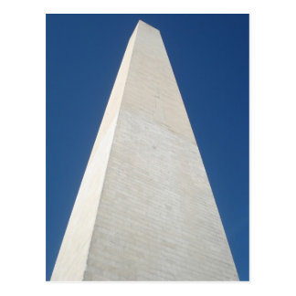 Carte Postale Regarder le monument de Washington